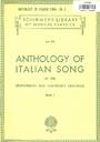 Anthology of Italian song