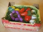 Zelenina v přepravce
