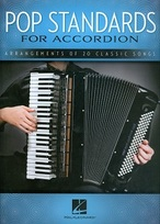Pop standards for accordion