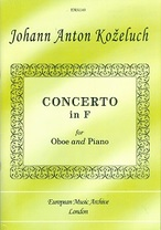 Concerto in F for Oboe and Piano