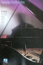 Favorite piano solos for all occasions