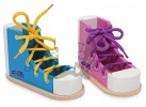 Barevné boty s tkaničkami