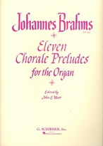 Eleven Chorale Preludes for the Organ