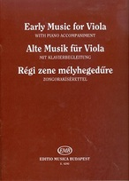 Early music for viola