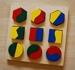 Geometrické puzzle