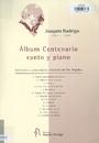 Álbum centenario canto y piano