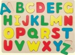 Puzzle na desce - abeceda